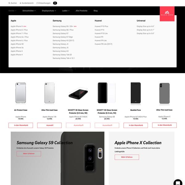 Portfolio and Shop Modernisation for Black Rock (a Hama Company)