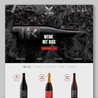 Online shop for zurich local winery