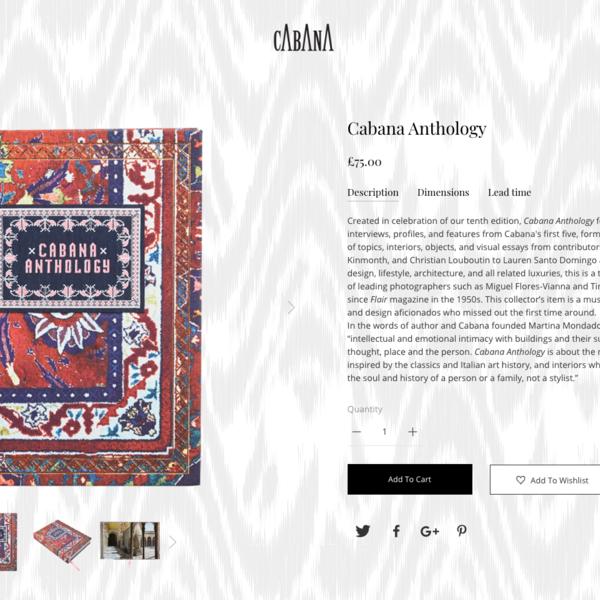 Cabana Magazine Product Page