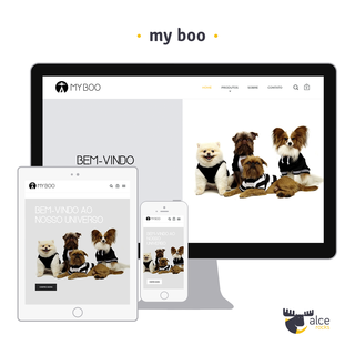 Concept clothing and accessories for pets (https://myboo.dog)