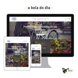 Fresh flowers arrangements delivered by bike (https://abeladodia.com)