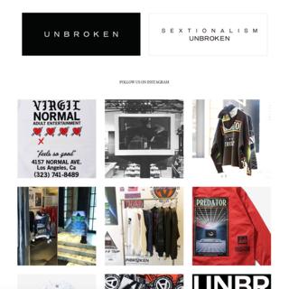 UNBROKEN Brand page