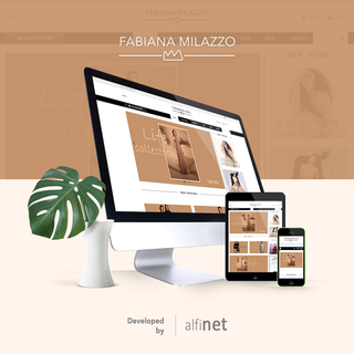 E-commerce internacional da Estilista Fabiana Milazzo