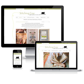 Stitching Cow | Web Design Hobart