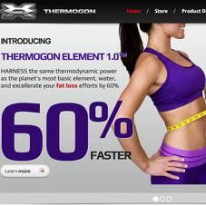 Thermogon: Shopify site