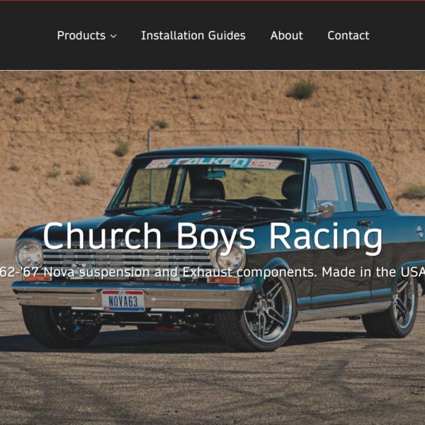 Church Boys Racing