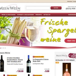 Bohlen Design - Ecommerce Designer - meinwein-online.de