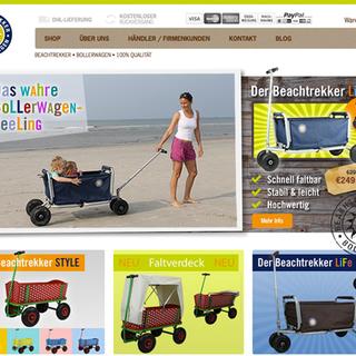 Bohlen Design - Ecommerce Designer - beachtrekker.com
