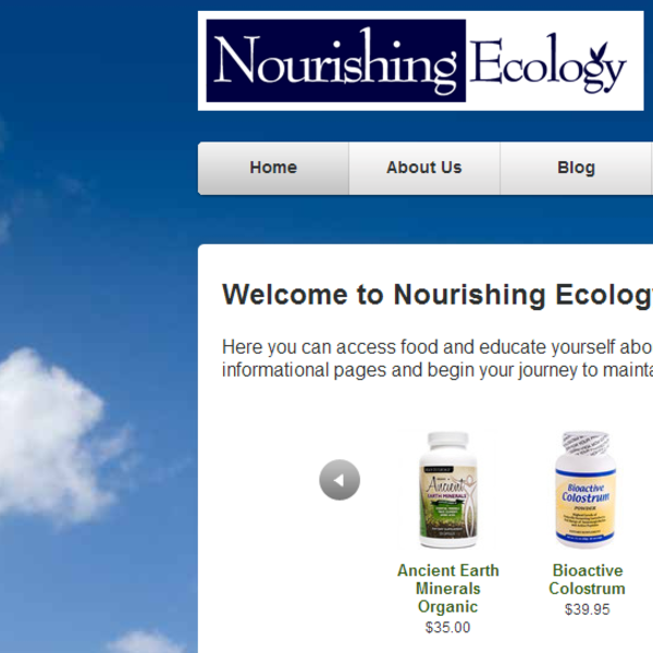 Nourishing Ecology maintains a leading position on Google