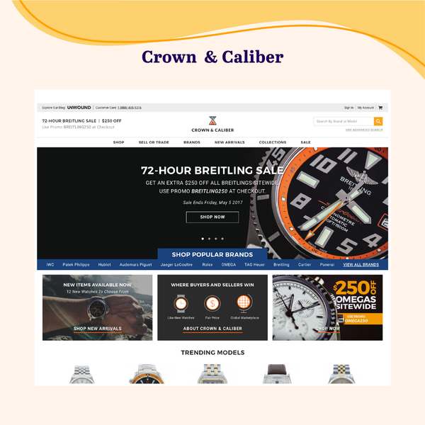 www.crownandcaliber.com