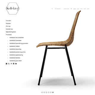 Norwegian high end interior-design brands, collectibles and furniture.