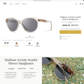 Shwood Original Wooden Sunglasses | Portland, OR