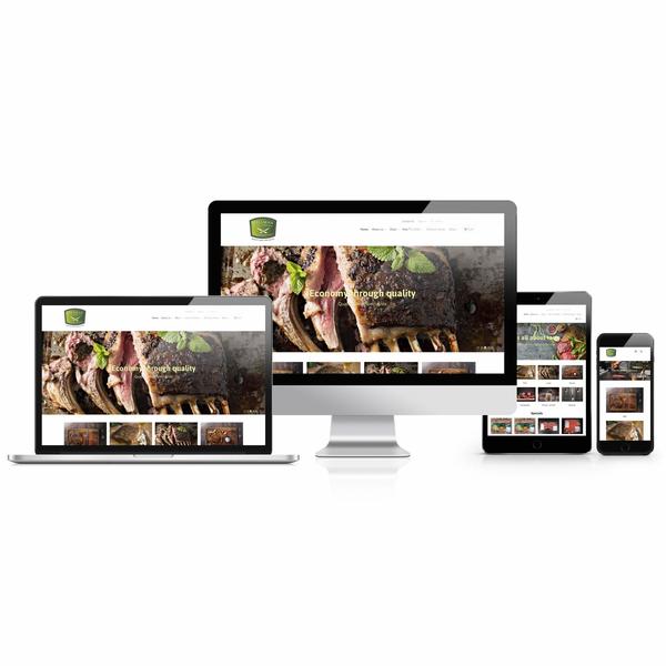 Hillman Meat's - Brand Development and Website Redesign (2016)