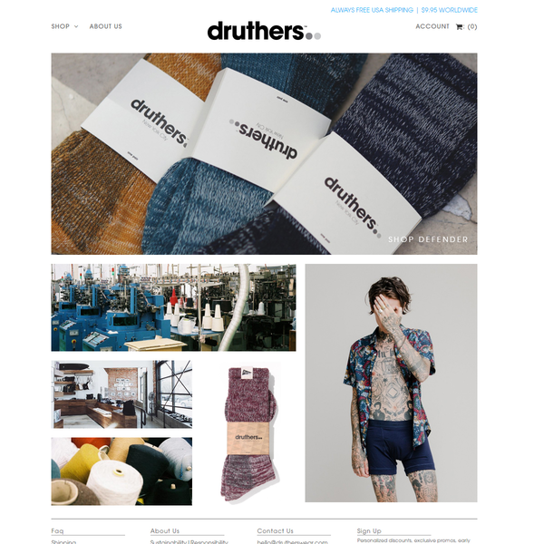 drutherswear.com
