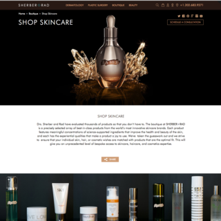 Michael Larkin - Ecommerce Designer / Developer / Setup Expert - Sherber + Rad. A highly customized, beautiful theme that is fully responsive.