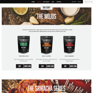 Michael Larkin - Ecommerce Designer / Developer / Setup Expert - Savage Jerky. Custom Shopify development for delicious beef Jerky.