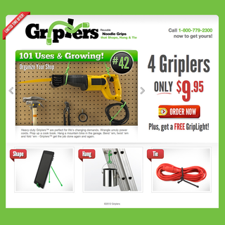 Griplers - Infomercial Product