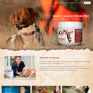 SciDogz - Daily Canine Probiotic