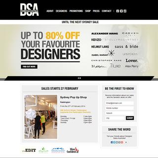 Designer Sales Australia