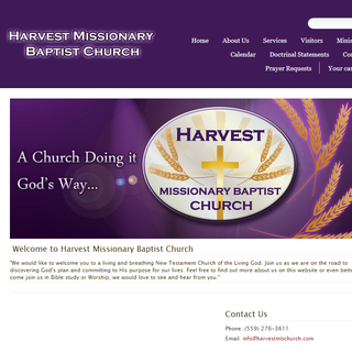 Harvest Missionary Baptist Church