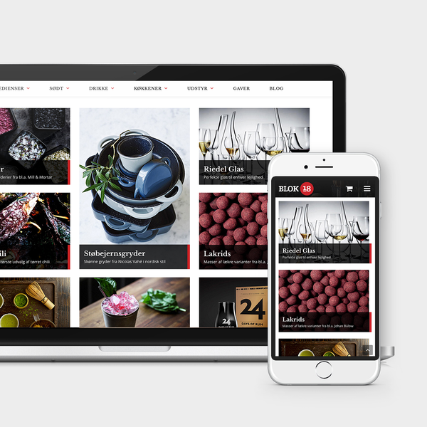Blok18, Fine food products online