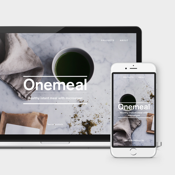 OneMeal - Healthy instant meal with microalgae