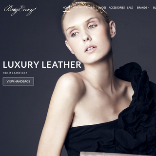 Bag Envy - Handbag Shopify Website