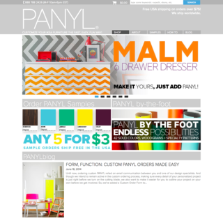 sineLABS - Ecommerce Designer / Developer - Panyl shop build & bespoke functionality