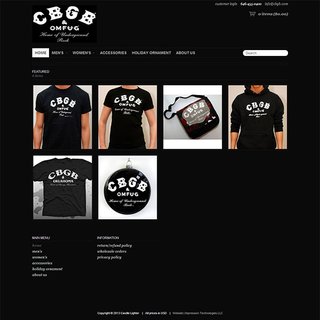 CBGB & OMFUG Merchandise