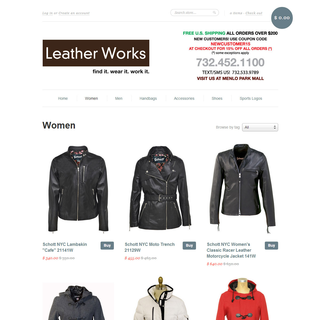 Leather Works Category Page