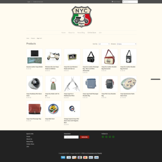 Impression Technologies LLC - Ecommerce Marketer / Setup Expert - Online Store for Vespa Club NYC