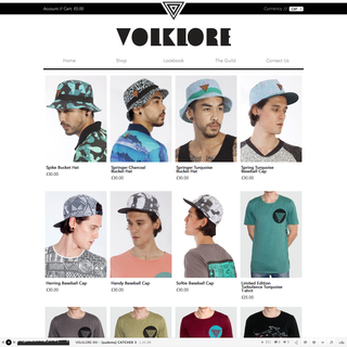 volklore.com collection page