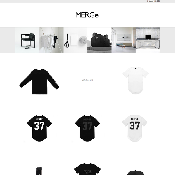 mergelondon.com collection page