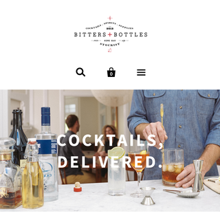 Bitters+Bottles Implementation