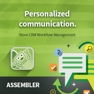 Assembler allows you to assign CRM values to Line Items