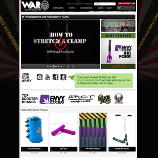 WarScooters.com - video production, brand/web design