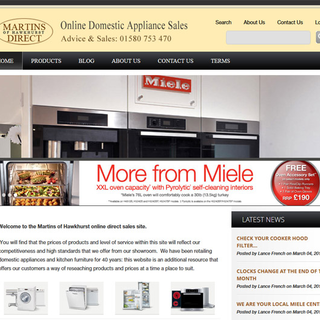 Martins Direct - domestic appliances