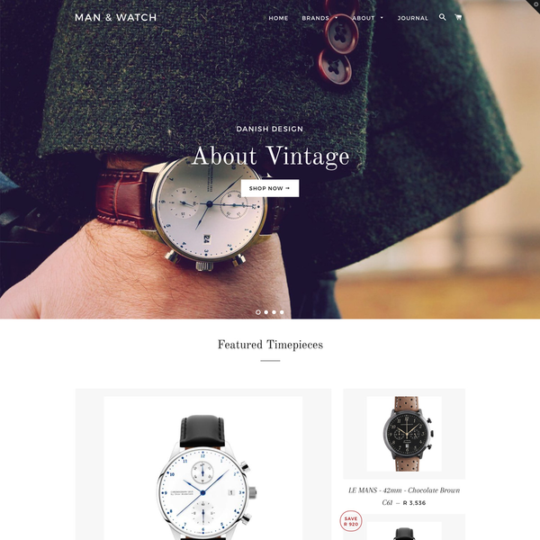 Man And Watch Design and Setup