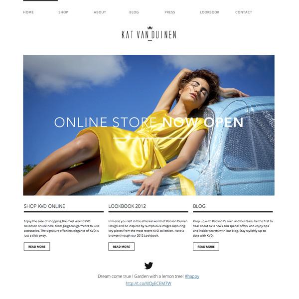 Kat Van Duinen setup & implementation