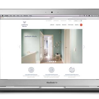 Design & Practice - Ecommerce Designer - Art direction for Weekamp Deuren