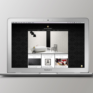 Design & Practice - Ecommerce Designer - Website design for Marcel Wanders