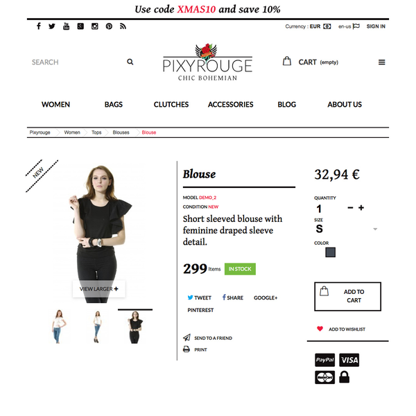 Pixyrouge Online Shop