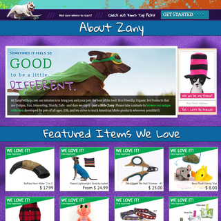 Zany Pet Shop