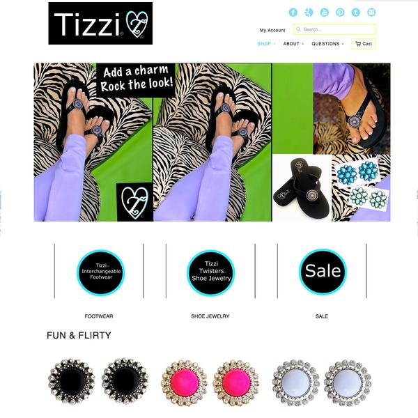 Tizz-inc.com Shopify store