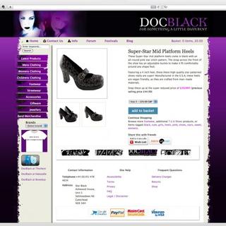 Stuart Whitman - Ecommerce Designer - Doc Black