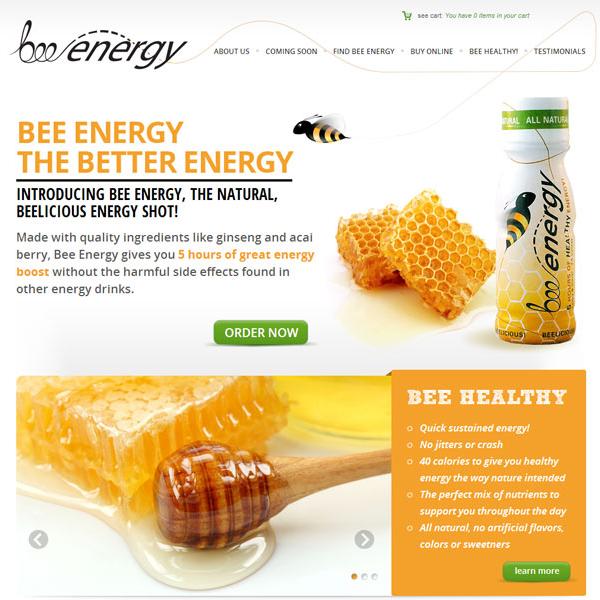 BeeEnergy Homepage