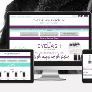 The Eyelash Emporium, eyelash extensions for the UK