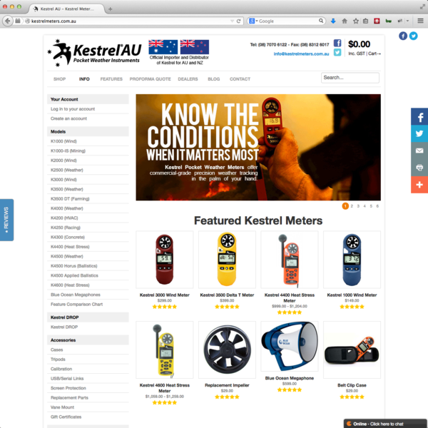 Kestrelmeters.com.au