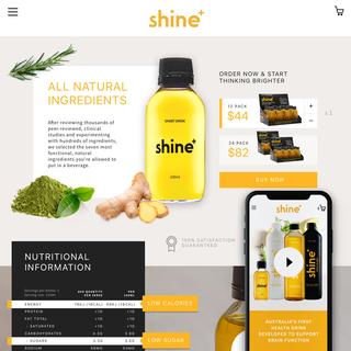 Shine+