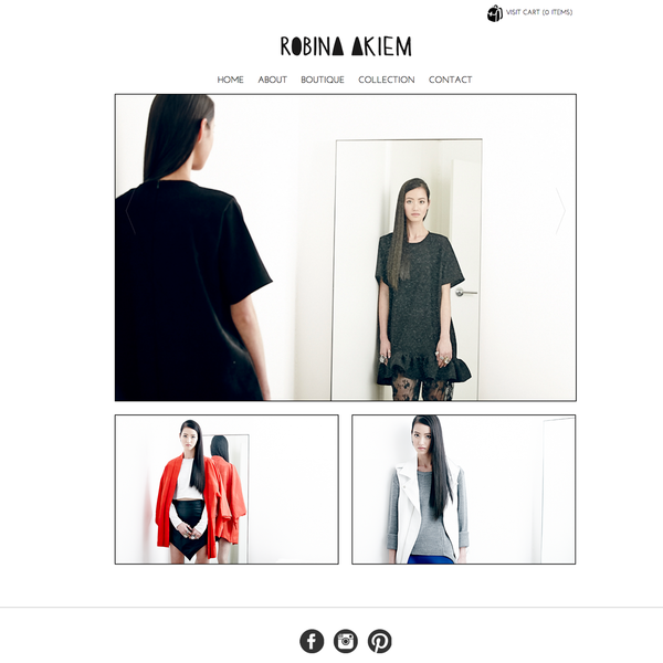 Robina Akiem - Australian Fashion Label